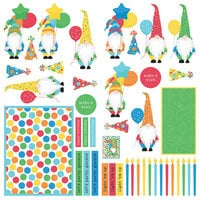Photo Play Paper - Norbert's Birthday Collection - 12 x 12 paper - Elements