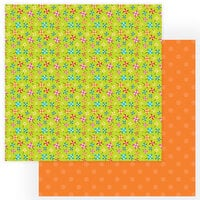 Photo Play Paper - Tulla and Norbert's Excellent Adventure Collection - 12 x 12 Double Sided Paper - Pinwheels