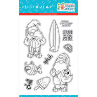 Photo Play Paper - Tulla and Norbert's Excellent Adventure Collection - Clear Photopolymer Stamps