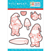 Photo Play Paper - Tulla and Norbert's Excellent Adventure Collection - Etched Die Set