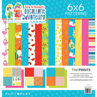 Photo Play Paper - Tulla and Norbert's Excellent Adventure Collection - 12 x 12 Quad Paper Pack