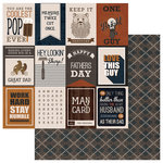 PhotoPlay Paper - This Guy Collection - 12 x 12 Double Sided Paper - Keep It Handsome 3x4 Cards
