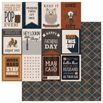 Photo Play Paper - This Guy Collection - 12 x 12 Double Sided Paper - Keep It Handsome 3x4 Cards