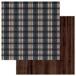 Photo Play Paper - This Guy Collection - 12 x 12 Double Sided Paper - Blue Plaid