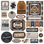 Photo Play Paper - This Guy Collection - Ephemera Pack