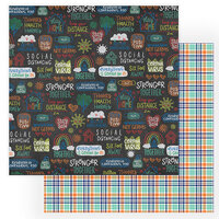 Photo Play Paper - The New Normal Collection - 12 x 12 Double Sided Paper - Sidewalk
