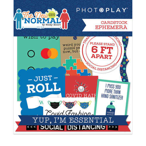 Photo Play Paper - The New Normal Collection - Ephemera