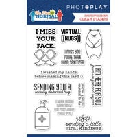 Photo Play Paper - The New Normal Collection - Clear Photopolymer Stamps - Phrase