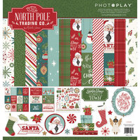 Photo Play Paper - The North Pole Trading Co. Collection - 12 x 12 Collection - Christmas Pack