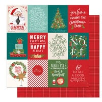 Photo Play Paper - The North Pole Trading Co. Collection - Christmas - 12 x 12 Double Sided Paper - Be Joyful