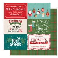 Photo Play Paper - The North Pole Trading Co. Collection - Christmas - 12 x 12 Double Sided Paper - Sleigh Rides