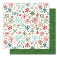 Photo Play Paper - The North Pole Trading Co. Collection - Christmas - 12 x 12 Double Sided Paper - Frosty
