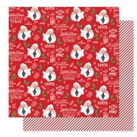 Photo Play Paper - The North Pole Trading Co. Collection - Christmas - 12 x 12 Double Sided Paper - Better Not Pout