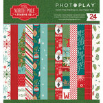 Photo Play Paper - Christmas - The North Pole Trading Co. Collection - 6 x 6 Paper Pad