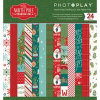 Photo Play Paper - The North Pole Trading Co. Collection - Christmas - 6 x 6 Paper Pad