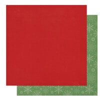Photo Play Paper - The North Pole Trading Co. Collection - Christmas - 12 x 12 Double Sided Paper - Solids - Red and Green
