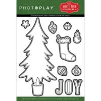 Photo Play Paper - The North Pole Trading Co. Collection - Christmas - Dies - Trim A Tree