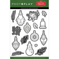 Photo Play Paper - The North Pole Trading Co. Collection - Christmas - Dies - Deck The Halls