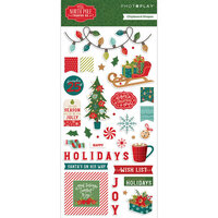 Photo Play Paper - The North Pole Trading Co. Collection - Christmas - 6 x 12 Chipboard