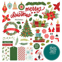 Photo Play Paper - The North Pole Trading Co. Collection - Christmas - Card Kit Stickers