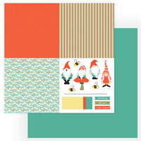 Photo Play Paper - Tulla and Norbert Collection - 12 x 12 Double Sided Paper - Quad 1
