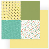 Photo Play Paper - Tulla and Norbert Collection - 12 x 12 Double Sided Paper - Quad 2