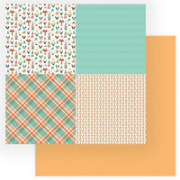 Photo Play Paper - Tulla and Norbert Collection - 12 x 12 Double Sided Paper - Quad 3