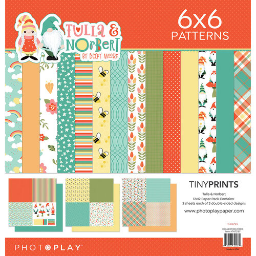 Photo Play Paper - Tulla and Norbert Collection - 12 x 12 Quad Paper Pack