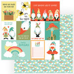 Photo Play Paper - Tulla and Norbert Collection - 12 x 12 Double Sided Paper - Sunshine