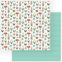 Photo Play Paper - Tulla and Norbert Collection - 12 x 12 Double Sided Paper - Gnomies