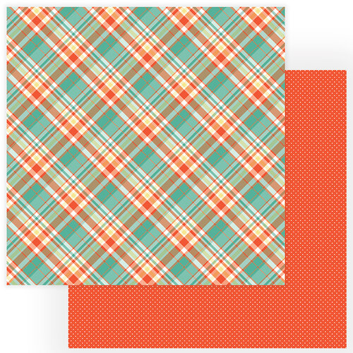 Photo Play Paper - Tulla and Norbert Collection - 12 x 12 Double Sided Paper - Hi Ho Hi Ho