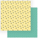 Photo Play Paper - Tulla and Norbert Collection - 12 x 12 Double Sided Paper - Honey Bees