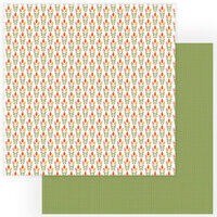 Photo Play Paper - Tulla and Norbert Collection - 12 x 12 Double Sided Paper - Tip Toe Through The Tulips