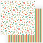 Photo Play Paper - Tulla and Norbert Collection - 12 x 12 Double Sided Paper - I Love Gnomes