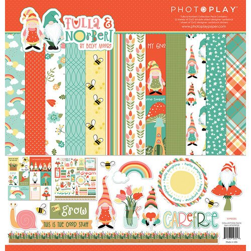 Photo Play Paper - Tulla and Norbert Collection - 12 x 12 Collection Kit