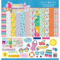 Photo Play Paper - Those Summer Days Collection - 12 x 12 Collection Pack