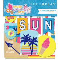 Photo Play Paper - Those Summer Days Collection - Ephemera