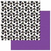 Photo Play Paper - Trick or Treat Collection - Halloween - 12 x 12 Double Sided Paper - Witchy