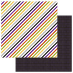 Photo Play Paper - Trick or Treat Collection - Halloween - 12 x 12 Double Sided Paper - Eeek