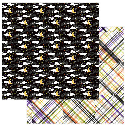 Photo Play Paper - Trick or Treat Collection - Halloween - 12 x 12 Double Sided Paper - Batty for You