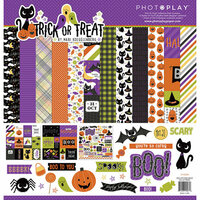 Photo Play Paper - Trick or Treat Collection - Halloween - 12 x 12 Collection Pack