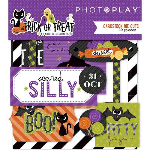 Photo Play Paper - Trick or Treat Collection - Halloween - Ephemera