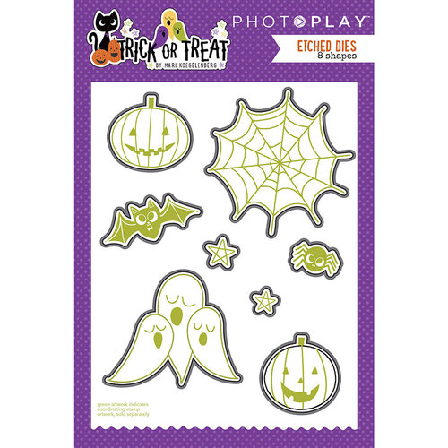 Photo Play Paper - Trick or Treat Collection - Halloween - Die Set