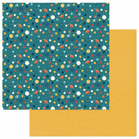 Photo Play Paper - To the Moon and Back Collection - 12 x 12 Double Sided Paper - Intergalactic