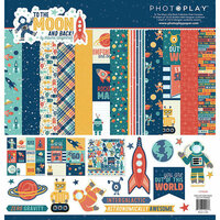 Photo Play Paper - To the Moon and Back Collection - 12 x 12 Collection Pack