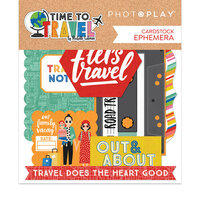 Photo Play Paper - Time to Travel Collection - Ephemera