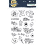Photo Play Paper - Thinking of You Collection - Clear Acrylic Stamps