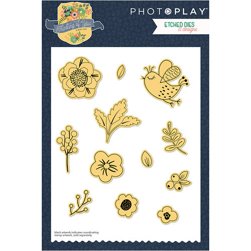Photo Play Paper - Thinking of You Collection - Die Set