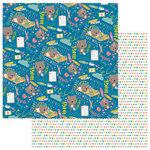 Photo Play Paper - Under the Weather Collection - 12 x 12 Double Sided Paper - Get Well Soon