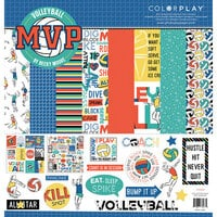 Photo Play Paper - MVP Volleyball Collection - 12 x 12 Collection Pack